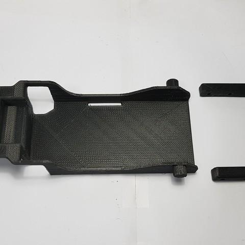 3D printing model TRX4 battery tray low CG TRX4 , kiatkla