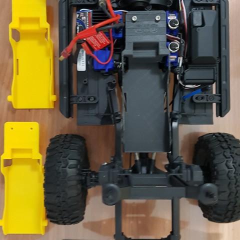 Descargar archivo 3D Bandeja de batería TRX4 baja CG TRX4, kiatkla
