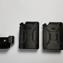 Free 3D print files Jerry can Fuel can TRX4 SCX10 K5 RC4WD scale rc, kiatkla