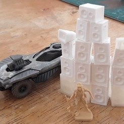 Free STL files 20mm Gaslands Parts, tabletop-terrain