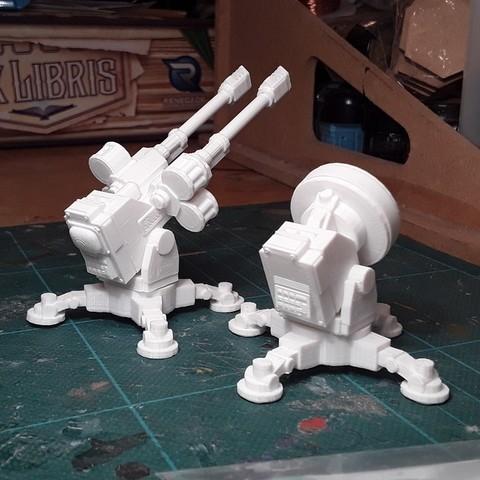 Télécharger fichier imprimante 3D gratuit Panneau de contrôle du pistolet Sabre, tabletop-terrain