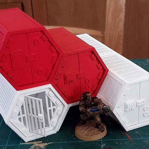 Impresiones 3D gratis Adiciones de carga desplegables, tabletop-terrain