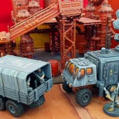 Download 3D printer files Extra Truck Bodies - 28mm, tabletop-terrain