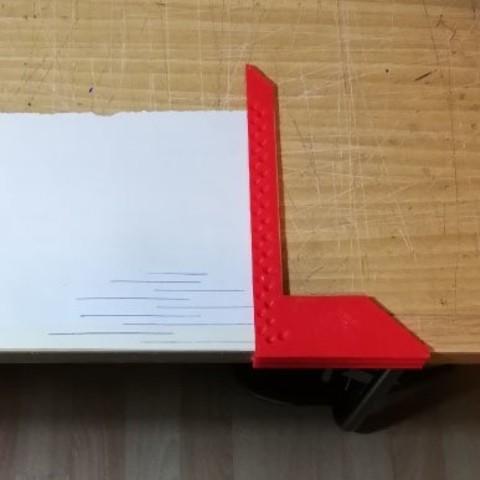 Escuadra-marcador 5mm_2.jpg Download STL file Marker square • Object to 3D print, CHS_ht