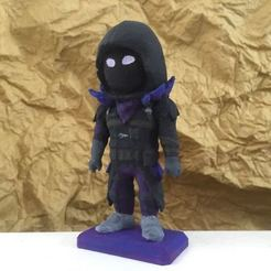 raven1.jpeg Download free STL file Fortnite Mini Raven • 3D printing template, Malek_