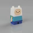 Descargar modelos 3D gratis Finn Adventure Time - miniatura cúbica, Malek_