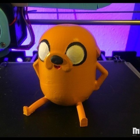 Free 3D printer designs Jake the dog from Adventure Time, Malek_