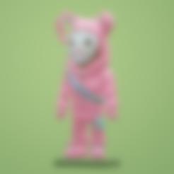 Descargar archivos STL gratis Mini Raider de conejos de Fortnite, Malek_