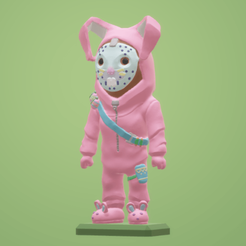 Free Fortnite Mini Rabbit Raider STL file, Malek_