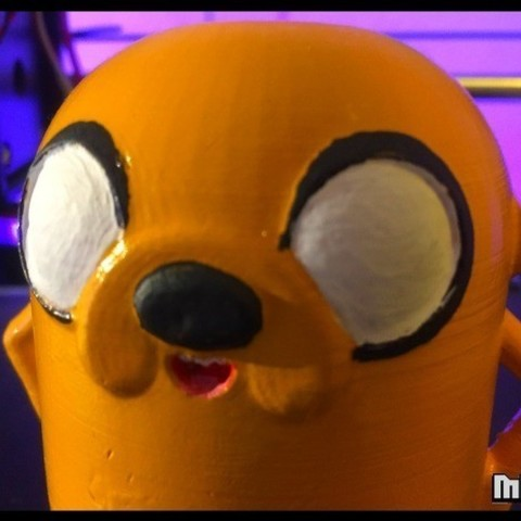 7812a0ca3e8e0349a29ff67829522383_preview_featured.jpg Download free STL file Jake the dog from Adventure Time • 3D printer template, Malek_