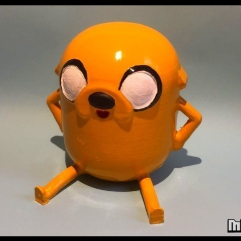 1acf4eb5092590e44d38584d2a8b4d67_preview_featured.jpg Download free STL file Jake the dog from Adventure Time • 3D printer template, Malek_