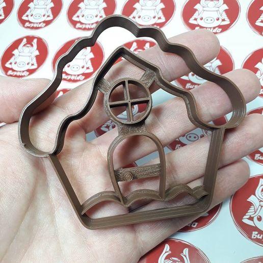 Descargar modelos 3D para imprimir Gingerbread House - Cookie Cutter, Josualuis