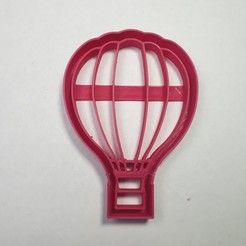 3D printer models Hot Air Balloon Cookie Cutter, Josualuis