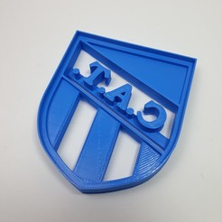 Download STL Club Atletico Tucuman -  Cookie Cutter Shield, Josualuis