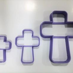 STL files Cross Communion Cookie Cutter, Josualuis