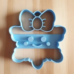 20201112_142734.jpg Download STL file Snowflake Cute - Christmas - Cookie Cutter • 3D printer object, Josualuis