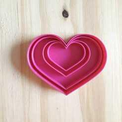 Corazon.jpg Download STL file Heart Stamp - Cookie Cutter • 3D printable model, Josualuis