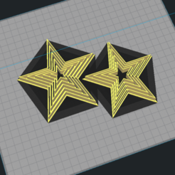 Sin título.png Download STL file Star Set - Cookie Cutter • 3D printer object, Josualuis