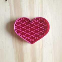 1d9882ed-7552-422d-a42d-a78dd8fb902a.jpg Download STL file Heart Hatch Stamp - Cookie Cutter • 3D printable model, Josualuis
