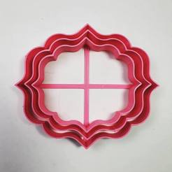 Download 3D printer templates Plaque Cutter - Cookie - Fondant - Clay, Josualuis