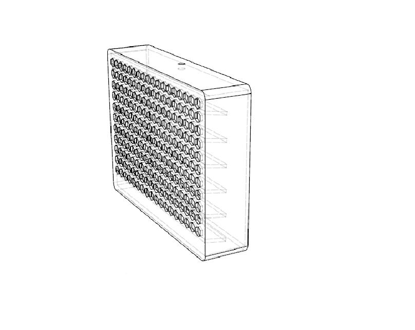 dibujo3.png Télécharger fichier STL gratuit mini climatiseur de bureau • Objet pour impression 3D, 3liasD