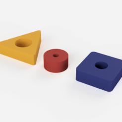 Download free 3D printer designs figures to celebrate, 3liasD