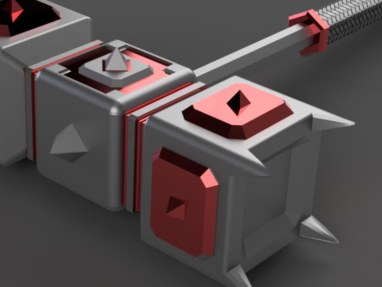 maza2 v5.png Télécharger fichier STL gratuit marteau de guerre • Modèle imprimable en 3D, 3liasD