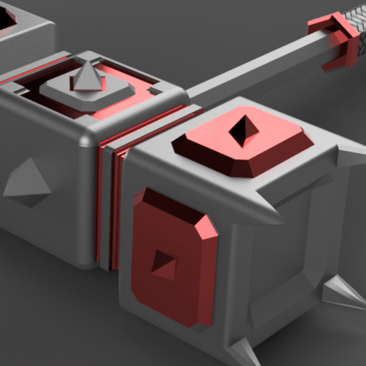 Download free 3D printer model war hammer, 3liasD