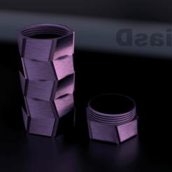 Download 3D printer designs jar model 3, 3liasD