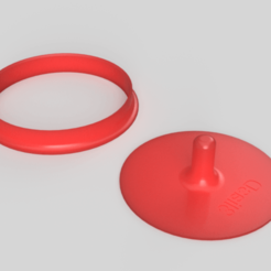 Download free STL file hamburger patty • 3D printer template, 3liasD