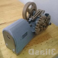 Download 3D printing files motor solenoid, 3liasD