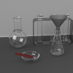Download free 3D printing models science package, 3liasD