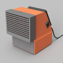 Download free STL file mini desktop air conditioner • 3D print design, 3liasD