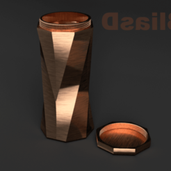 Download STL file model 2 jar • 3D print model, 3liasD