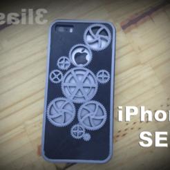 Descargar diseños 3D Funda iPhone SE, 3liasD