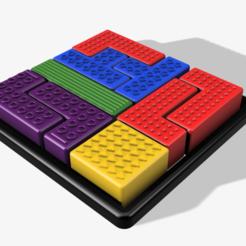 Untitled v3.png Télécharger fichier STL puzzle tetris • Design pour imprimante 3D, 3liasD