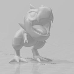 Tyrunt1.jpg Télécharger fichier OBJ Tyrunt • Design imprimable en 3D, willybyron