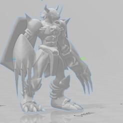 WareGreymon1.jpg Télécharger fichier OBJ WarGreymon • Plan à imprimer en 3D, willybyron