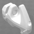 Télécharger plan imprimante 3D gatuit Support pour étagères dans la salle de douche avec un crochet supplémentaire, agztech3d