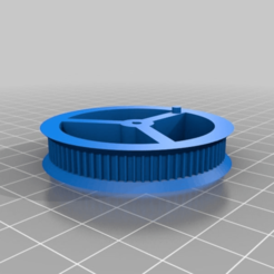 Download free STL file My Customized Simple Pulley/Gear • 3D print model, agztech3d