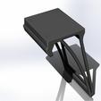 Télécharger fichier impression 3D gratuit Rack pour console IP-TV pour TV LG UK64xx, agztech3d