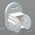 Télécharger fichier STL gratuit La base du support pour la pomme de douche, agztech3d