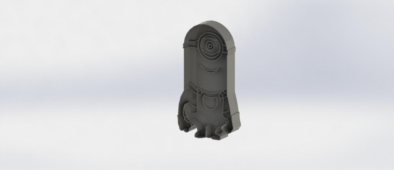 minions.JPG Download STL file Biscuit Cutter-Minions • Model to 3D print, deyson20