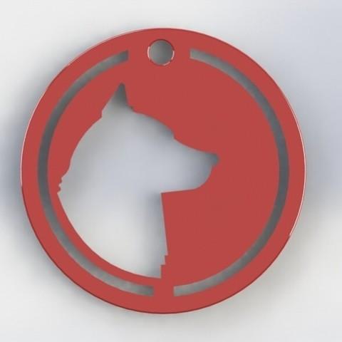 IMG_20180720_110213.jpg Download STL file Dog Necklace • Model to 3D print, deyson20