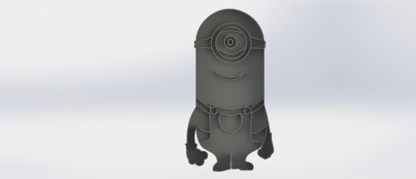 mi.JPG Download STL file Biscuit Cutter-Minions • Model to 3D print, deyson20