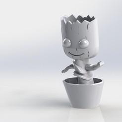 Descargar archivos 3D Groot, deyson20