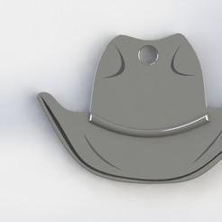 sombrero.JPG Download STL file Key ring hat • 3D print template, deyson20