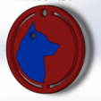 Captura de pantalla (273).png Download STL file Dog Necklace • Model to 3D print, deyson20