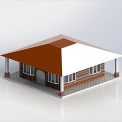 Descargar modelos 3D para imprimir Casa, deyson20