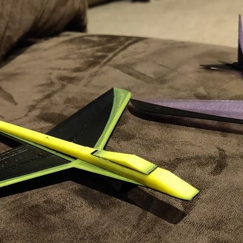 Modelos 3D para imprimir gratis Planeador Dart-A-Ray PLA Extraordinaire, dcarterhistory